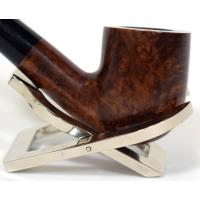 John Brumfit Great British Classic Smooth Bent Pot Fishtail Pipe (GBC10)