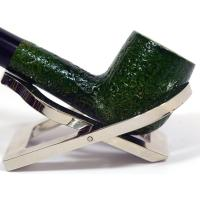 Italian Green Mini Sandblast Straight Fishtail Pipe (GM02)