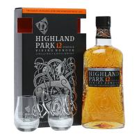 Highland Park 12 Year Old Viking Honour Glass Gift Pack - CHRISTMAS SALE
