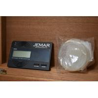 Jemar Indian Collection Brown Patterned Humidor - 70 Cigar Capacity