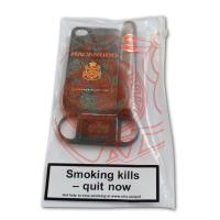 Macanudo Mareva Cigar and Cutter Set - iPhone 4S Black Case
