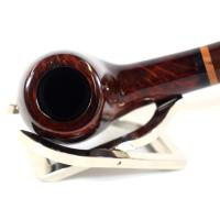 Jemar Principe Albert No.19 Smooth 9mm Filter Fishtail Pipe (JM093)