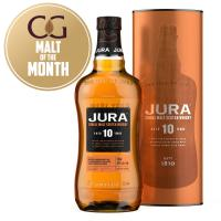 Isle of Jura 10 Year Old 2018 Bottling Single Malt Scotch Whisky - 70cl 40%