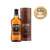 Jura 12 Year Old Single Malt Scotch Whisky  - 70cl 40%