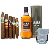 Isle of Jura Seven Wood + New World Selection Pairing Sampler
