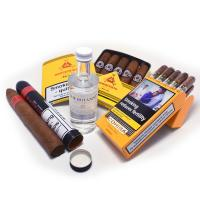 LIMITED TIME SAMPLER - Let the Party Be-Gin! – Gin and 16 Cuban Cigars Sampler