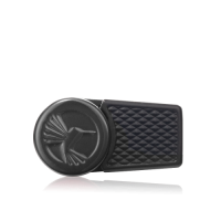 Colibri Evo Single-jet Flame Lighter - Black & Chrome