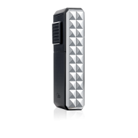 Colibri Quasar Astoria Triple Jet Flame Lighter - Black & Chrome