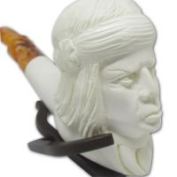 Sultan With Head Band Large Meerschaum Pipe