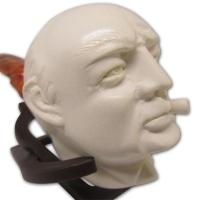 Smoking Man Medium Meerschaum Pipe
