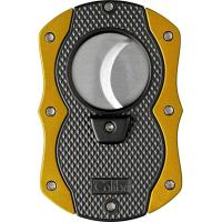 Colibri Monza Single Jet Lighter & Cutter Set -  Yellow (Discontinued)