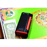 Colibri Monza III - Triple Jet Cigar Lighter Black & Anodized Red (End of Line)