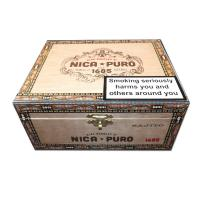 Alec Bradley Nica Puro 1685 - Bajito Short Robusto Cigar - Box of 20