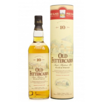 Old Fettercairn 10 Year Old Vintage Single Malt Whisky With Glass - 70cl 40%