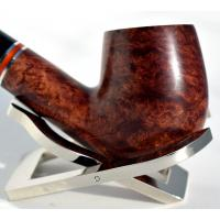 Peterson Dalkey 69 Nickle Band Bent Fishtail Pipe (PE192)
