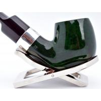Peterson Racing Green 221 Silver Mounted Fishtail Pipe (PE982)