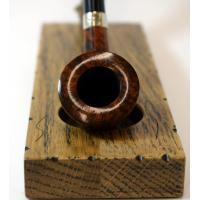 Peterson Churchwarden D6 Smooth Nickel Mounted Fishtail Pipe (PEC039)