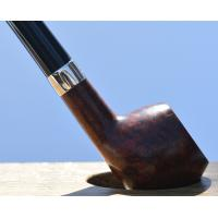 Peterson Churchwarden Prince Smooth Nickel Mounted Fishtail Pipe (PEC076)