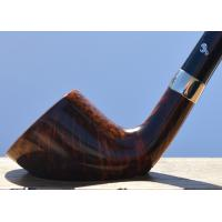 Peterson Churchwarden D6 Smooth Nickel Mounted Fishtail Pipe (PEC083)