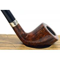 Peterson Churchwarden D6 Smooth Nickel Mounted Fishtail Pipe (PEC090)