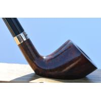 Peterson Churchwarden D6 Smooth Nickel Mounted Fishtail Pipe (PEC100)