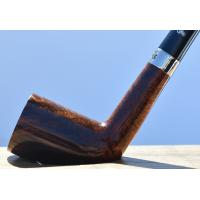 Peterson Churchwarden Dublin Smooth Nickel Mounted Fishtail Pipe (PEC101)
