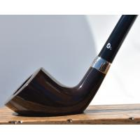 Peterson Churchwarden D6 Grey Nickel Mounted Fishtail Pipe (PEC115)