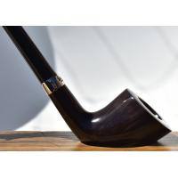 Peterson Churchwarden D6 Grey Nickel Mounted Fishtail Pipe (PEC116)