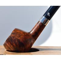 Peterson Churchwarden Prince Smooth Nickel Mounted Fishtail Pipe (PEC122)