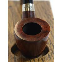 Peterson Churchwarden D15 Smooth Nickel Mounted Fishtail Pipe (PEC190)