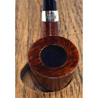 JANUARY SALE - Peterson Churchwarden D15 Smooth Nickel Mounted Fishtail Pipe (PEC191)