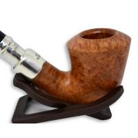 Peterson Natural Army Sterling Silver Spigot B10 Fishtail Pipe (PE498)