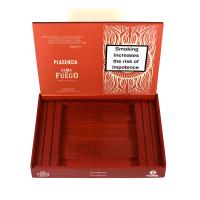 Empty Plasencia Alma Del Fuego Flama Cigar Box & Ashtray