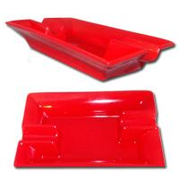 Ceramic Cigar Ashtray by Walkure  - Red