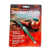 Rodgers Sheffield Steel Pipe Knife Tamper & Spike - Chrome