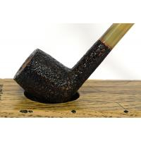 Savinelli Gingers Favourite 104 Straight Rustic 6mm Filter Fishtail Pipe (SAV353)