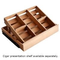 Swisscave Cigar Cabinet Black Climate Controlled Humidor - 400 Capacity