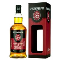 Springbank 12 Year Old Cask Strength Mid 2018 Single Malt Whisky - 70cl 56.3%