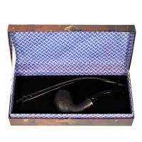 Stanwell Hans Christian Andersen Model 7 Black Sandblast Fishtail Pipe (ST024)
