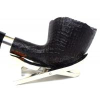 Stanwell Pipe Of The Year Light 2020 Brushed Black Silver Mounted Fishtail Pipe (ST43)
