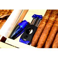 Colibri V-Cut Cigar Cutter - Blue