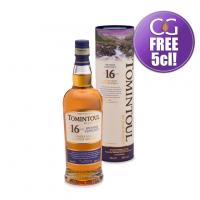 Tomintoul 16 Year Old Single Malt Scotch Whisky - 70cl 40%
