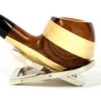 Vauen Wood 742 Smooth 9mm Filter Fishtail Pipe (VA292)