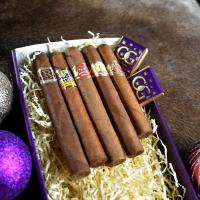 Cuban Christmas Selection Sampler Gift Box - 5 Cigars