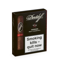 Davidoff Yamasa Petit Churchill Cigar - Pack of 4
