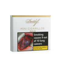 Davidoff Mini Cigarillos Gold - Pack of 10