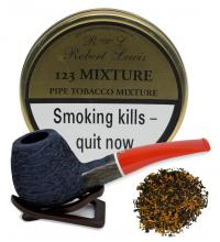 Robert Lewis 123 Mixture Pipe Tobacco 50g (Tin)