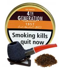 Erik Stokkebye 4th Generation 1957 Erik Michaels Blend Pipe Tobacco 50g Tin
