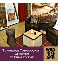 Turmeaus Tobacconist Chester Tasting Event 19/04/17