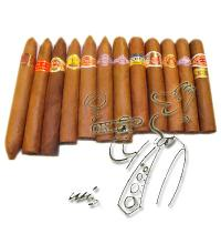 C.Gars Ltd Best Thick Gauge Smokes Sampler - 12 cigars